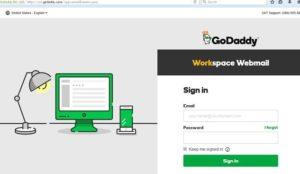 godaddy email login workspace