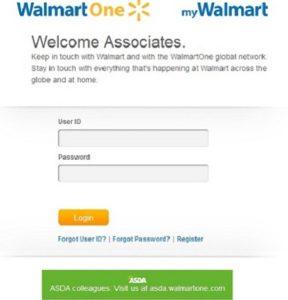 WalmartOne Login