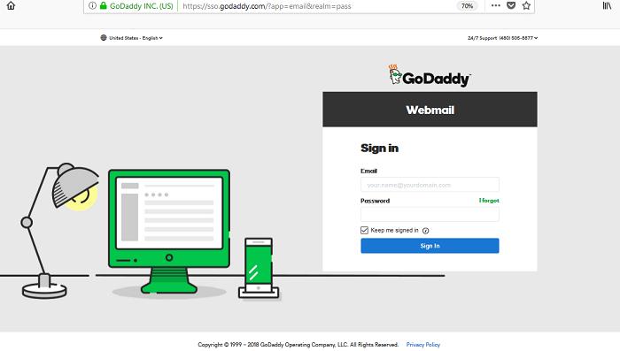 Godaddy Email Login