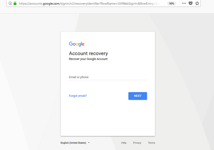 Https g.co Recover